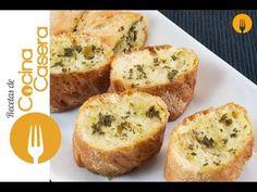 Pan de ajo - Recetas de Cocina Casera - Recetas fáciles y sencillas