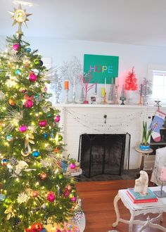 nesting instincts: colorful christmas color
