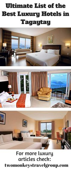 best luxury hotels in tagaytay