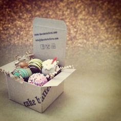 cake balls!A CIRCUS SAMPLER is a great way to ring in September 2013 AND for us to celebrate our 3rd year anniversary! Pre-order now info@cakeballers.com www.cakeballers.com #thecakeballers #cakeballer #boisegoodies #boiseplayshard #circusisintown #circusballs #rootbeer #chocolatedippedbanana #cottoncandy #caramelapple #cakeballs #baller4ballsampler #samplers #boiseballers