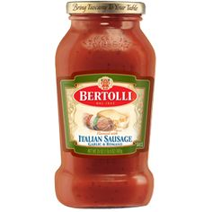 Italian Sausage Pasta Sauce - Bertolli