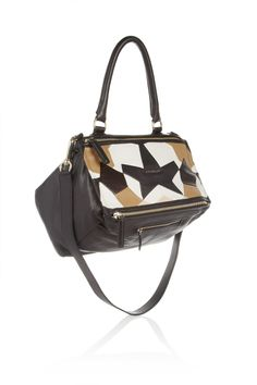 Givenchy | Medium Pandora bag in patchwork nappa leather | NET-A-PORTER.COM