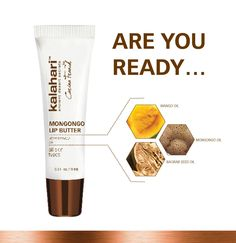 Be the first to get your Mongongo Lip Butter.natural protection against harmful UV rays, prevents chapping and leaves your lips noticeably smooth. Baobab Seeds, Your Lips, Seed Oil, Deserts, Butter, Skin Care, Smooth, Leaves, Smile