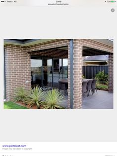 Austral Everyday life brick in Freedom with woodland grey Livable Sheds, Facade House, House Facades, Brick Colors, Building A New Home, Outdoor Living Areas, Home Design Plans, Shed Plans, Exterior Colors