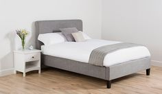 Buy George Home Antonio Scroll Bed in Light Grey - Double from our Beds range today from George at ASDA.