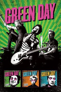 Green Day, not my favourite CDs ever but, oh, Green Day, I can rely on you when having a bad day.