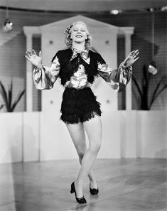 Ginger Rogers -- She did everything Fred Astaire did, only backwards and in high heels.