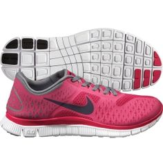 These new tennis shoes = my motivation to go running more!  Nike Women's Free 4.0 v2 Running Shoe