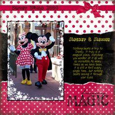 Disney Magic, digital layout by kpbrutcher