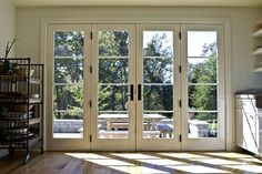 A beautiful house is not only making everyone in the house feel comfortable but also feel secure. One of the most important part of a beautiful house is the design. The design of . Read MoreDIY Double Doors a.a French Doors Ideas Double French Doors, French Doors Patio, French Windows, Double Patio Doors, Upvc French Doors, Porch Doors, Back Doors, Windows And Doors, Entry Doors