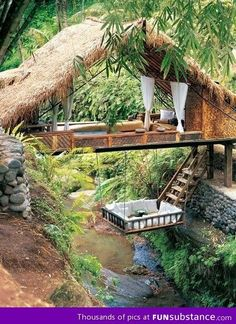 A resort spa treehouse in Bali - FunSubstance.com on imgfave