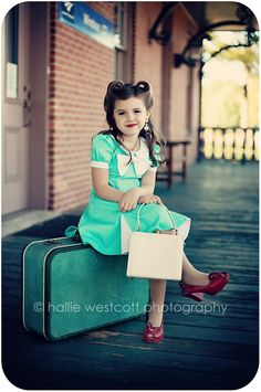 Waiting for The Train – CT Children's Photographer Vintage Kids Photography, Little Girl Photography, Children Photography, Family Photography, Photography Ideas, Photography Editing, Portrait Photography, Little Girl Pictures, Little Girls