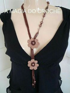 Pretty Flower Necklace! :-)