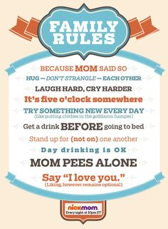 9 simple rules to surviving any family