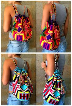 New Backpacks available at Kolombiana
