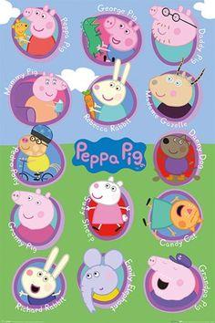Lots Of Friends - Peppa Pig Multi Characters