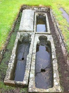 Vacant tombs at St. Andrews, Scotland. ∞ *gulp!* .......where'd they go? *looks around paranoid*