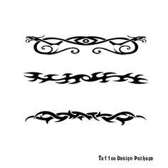 Tribal Band Tattoos. how 2 make a tattoo gun back tribal tattoos designs