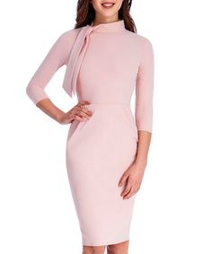 Nude neck tie midi dress Sale - Goddiva Sale £29