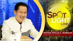 Watch another episode of Pastor Apollo C. Quiboloy's newest program, SPOTLIGHT. For your messages and queries, you can comment it down below so our Beloved P. Kingdom Of Heaven, T Lights, Son Of God, Jerusalem, Apollo, Gods Love, Spotlight, January, Spiritual