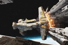 There is an enduring mystery surrounding Rogue One: What happened to the crew of the Hammerhead starship? They're the ones (spoiler warning) who crash their vessel into a crippled Star Destro…