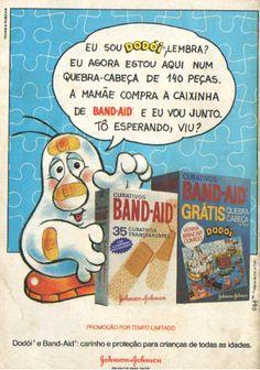 Band- Aid Quebra-cabeça Dodói (1984)