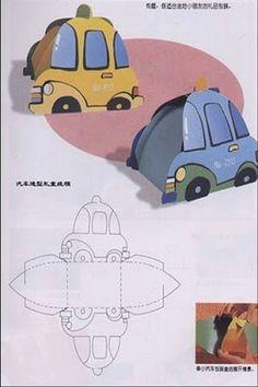 Car box template