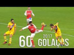 60 Golaços De 2017 - YouTube