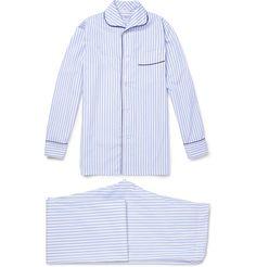 Turnbull & AsserStriped Cotton Pyjama Set|MR PORTER