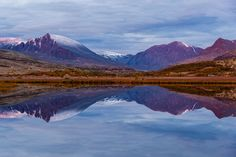 Reflection in Døråldalen :: by Tor Ivan Boine