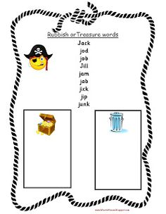 and Treasure games - Letters and Sounds beginning of phase 3