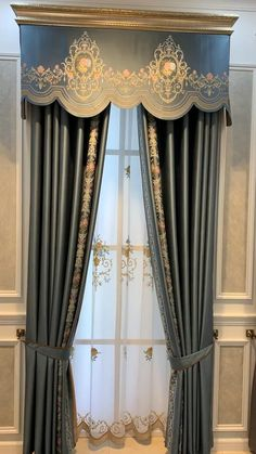 Fancy Curtains, Luxury Curtains, Elegant Curtains, Beautiful Curtains, Modern Curtains, Colorful Curtains, Curtains With Blinds, Drapes Curtains, Curtain Designs For Bedroom