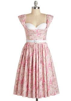 Amour and More Dress, #ModCloth