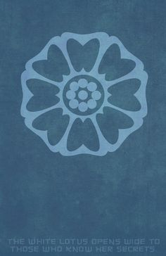 Order of the White Lotus Art Print
