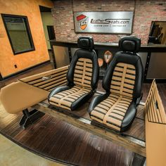 «Finished another set of #custom #MazdaMiata #MEdition #seats and #doorpanels in…