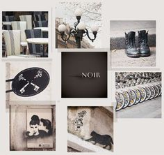 Noir, from Paris in Color, by Nichole Robertson @littlebrownpen
