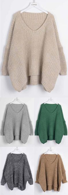 Casual Sweater, $27.99 Now! Only 7-Day Shipping Time~ Easy Return + Refund! If you're going on a trip this holiday season or just staying home then this sweater will be perfect for you in fall! It's so comfy and casual. More surprise from Cupshe.com