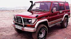 Toyota Land Cruiser Prado 70-series RED ALERT