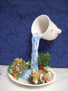 Catarata en una taza?