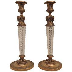 Fine Pair French Empire Dore Bronze