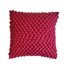 - Almofada de crochê produzida em lã com verso em tecido branco, recheio em fibra siliconada e zíper invisível. <br> <br>QUE TEXTURA INCRÍVEL! <br> <br>- Pode ser produzida nas cores de sua preferência. <br> <br>- Medida: <br>40x40cm <br> <br>- Produção sob encomenda: