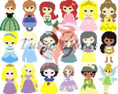 Princess C2C Crochet Graph Pack                                                                                                                                                                                 More