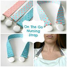 On The Go Breastfeeding Strap, Nursing Clip, Blanket Clip, Nursing Strap Clip