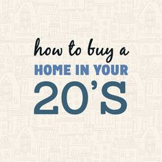 How I was able to financially swing buying a home in my 20's. You can do it too! http://itz-my.com