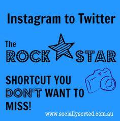 Instagram to Twitter Shortcut: Easily Tweet Instagram Photos with IFTTT www.sociallysorted.com.au