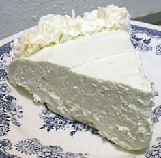 NO-BAKE KEY LIME CHEESECAKE - Linda's Low Carb Menus & Recipes
