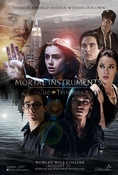 Fan made poster of The Mortal Instruments: City of Bones (french title)