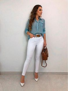 Chic Outfits For Edgy and Chic Outfits For Women fashion style stylish girl fashion womens fashion fashion outfits Source by Casual Chic Outfits, Casual Chic Style, Look Chic, Office Outfits, Fashion Outfits, Work Outfits, Hijab Casual, Office Attire, Casual Clothes