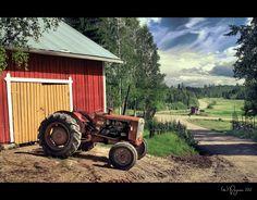 Finnish Countryside by Pajunen.deviantart.com on @deviantART
