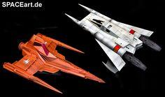 Buck Rogers: Starfighter und Marauder, Modell-Bausatz ... http://spaceart.de/produkte/bkr001.php